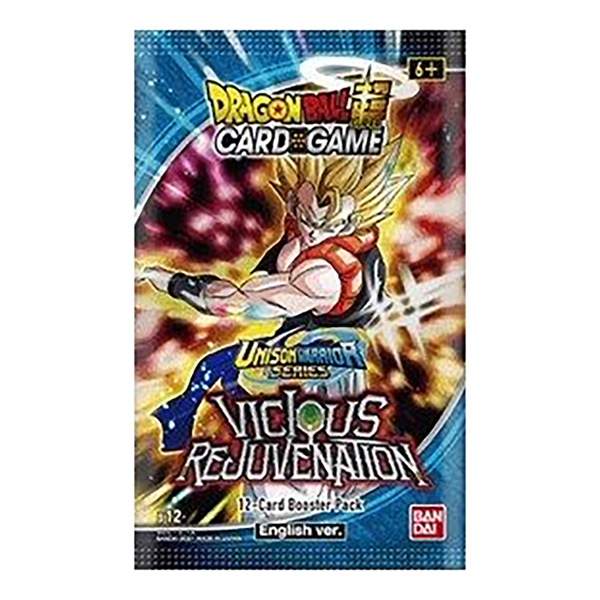 [The cover for Dragon Ball Super: Card Game: Unison Warrior Series: Set 3: B12 (Booster Pack)]