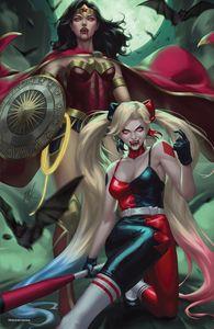 [DC Vs. Vampires #1 (Ejikure Cardstock Team Glow In The Dark Variant) (Product Image)]