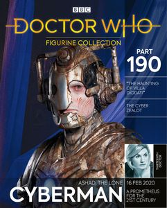 [Doctor Who Figurine Collection #190: Ashad The Lone Cyberman (Product Image)]