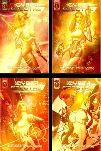 [Cyber Spectre #1 (Gold Set) (Product Image)]