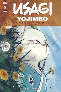 [Usagi Yojimbo: Wanderers Road #5 (Peach Momoko Cover) (Product Image)]