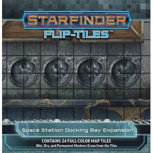 [Starfinder: Flip-Tiles: Space Station Docking Bay Expansion (Product Image)]