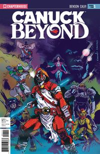 [The cover for Canuck: Beyond #1]