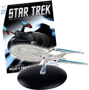 [Star Trek: Starships Figure Collection #21 USS Enterprise (Product Image)]
