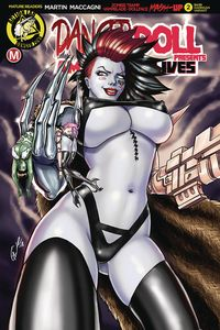 [Danger Doll Squad Presents: Amalgama Lives #2 (Cover E Harrigan) (Product Image)]