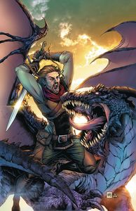 [Dragonsblood #1 (Cover B Krome) (Product Image)]