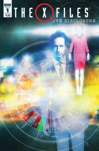 [X-Files: JFK Disclosure #1 (Cover A Menton3) (Product Image)]