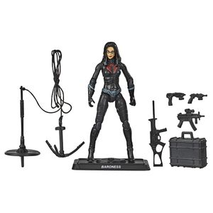 [Gi Joe: Retro Action Figure: Baroness (Product Image)]