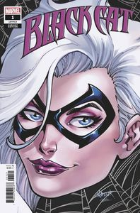 [Black Cat #1 (Nauck Headshot Variant) (King In Black) (Product Image)]