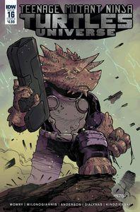 [Teenage Mutant Ninja Turtles: Universe #16 (Cover B Milonogiannis) (Product Image)]