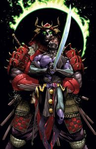 [Book Of Death: Fall Of Ninjak #1 (Cover B Mann) (Product Image)]
