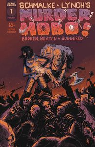 [Murder Hobo: Beaten, Broken & Buggered #1 (Cover B) (Product Image)]