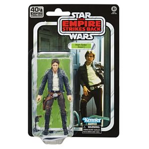 [Star Wars: The Empire Strikes Back: 40th Anniversary Black Series Action Figure: Han Solo (Bespin) (Product Image)]