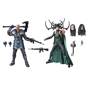 [Thor: Ragnarok: Marvel Legends 80th Anniversary Action Figure: Skurge & Hela 2-Pack (Product Image)]