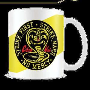 [Cobra Kai: White Coffee Mug: No Mercy (Product Image)]