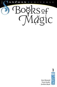 [Books Of Magic #1 (Blank Variant Edition) (Product Image)]