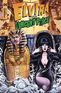 [Elvira Meets Vincent Price #4 (Cover B Samu) (Product Image)]