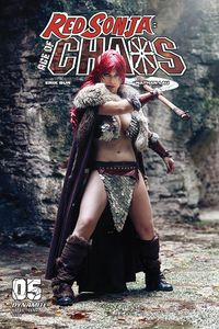 [Red Sonja: Age Of Chaos #5 (Cover E Sabattini Cosplay) (Product Image)]
