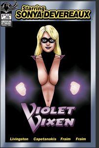 [Starring Sonya Devereaux: Violet Vixen (Cover A Fraim) (Product Image)]