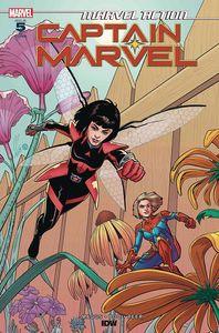 [Marvel Action: Captain Marvel #5 (Levens Variant) (Product Image)]