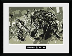 [Dungeons & Dragons: Framed Print: WFP (Product Image)]