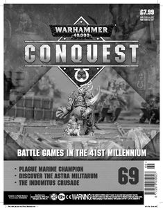[Warhammer 40K: Conquest: Figurine Collection #69 (Product Image)]