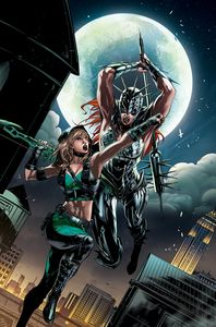 [Robyn Hood: Iron Maiden #2 (One Shot Cover B White) (Product Image)]