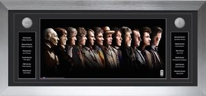 [Doctor Who: Deluxe Framed Print: The 12 Doctors (Limited Edition) (Product Image)]