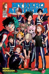 [My Hero Academia Volume 4 (Product Image)]