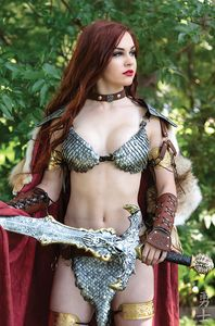 [Red Sonja: Valentines Special (One Shot Cosplay Virgin Variant) (Product Image)]