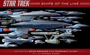 [Star Trek: Ships Of The Line (Hardcover) (Product Image)]