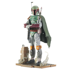 [Star Wars: Return Of The Jedi: Milestones Statue: Boba Fett (Product Image)]