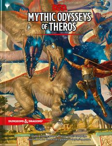 [Dungeons & Dragons: Mythic Odysseys Of Theros (Campaign Setting & Adventure Book) (Product Image)]