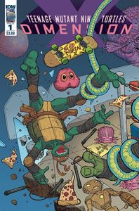 [Teenage Mutant Ninja Turtles: Dimension X #1 (Cover A Pitarra) (Product Image)]