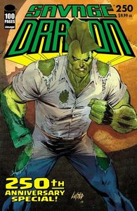 [Savage Dragon #250 (Cover C Liefeld) (Product Image)]