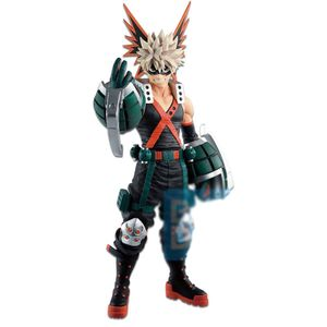 [My Hero Academia: Ichibansho Figure: Katsuki Bakugo (Fighting Heroes Feat. One's Justice) (Product Image)]