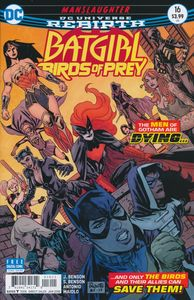 [Batgirl & The Birds Of Prey #16 (Product Image)]