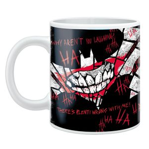 [Batman: Mug: Jokerfied Logo (Product Image)]