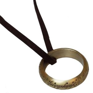 [Lord Of The Rings: One Ring On Leather Thong (Forbidden Planet Exclusive) (Product Image)]