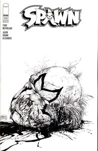 [Spawn #295 (Cover C Black & White Variant Mcfarlane & Mattina) (Product Image)]