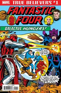 [True Believers: Fantastic Four: Galactus Hungers #1 (Product Image)]
