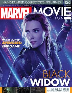 [Marvel Movie Figurine Collection #126: Black Widow Endgame (Product Image)]