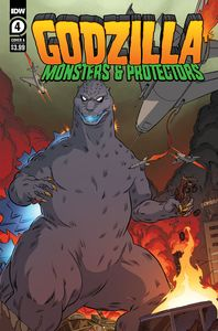 [Godzilla: Monsters & Protectors #4 (Cover A Dan Schoening) (Product Image)]