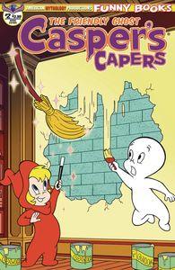 [Casper's Capers #2 (Dela Cuesta Main Cover) (Product Image)]