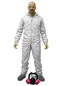 [Breaking Bad: Action Figures: Walter White In White Hazmat Suit (Product Image)]