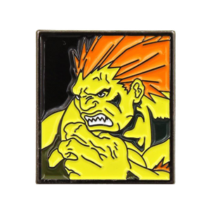 [Street Fighter: Pin Badge: Blanka (Product Image)]