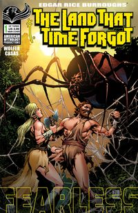 [The cover for The Land That Time Forgot: Fearless #1 (Cover A Martinez)]