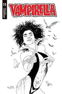 [Vampirella #11 (Gunduz Black & White Variant) (Product Image)]