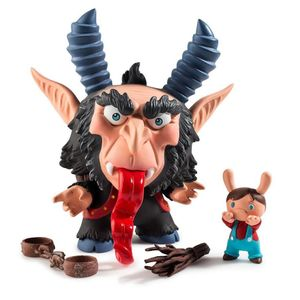 [Kidrobot: Dunny: Krampus By Scott Tolleson (Product Image)]