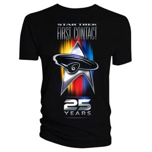 [Star Trek: First Contact: T-Shirt: 25th Anniversary (Product Image)]